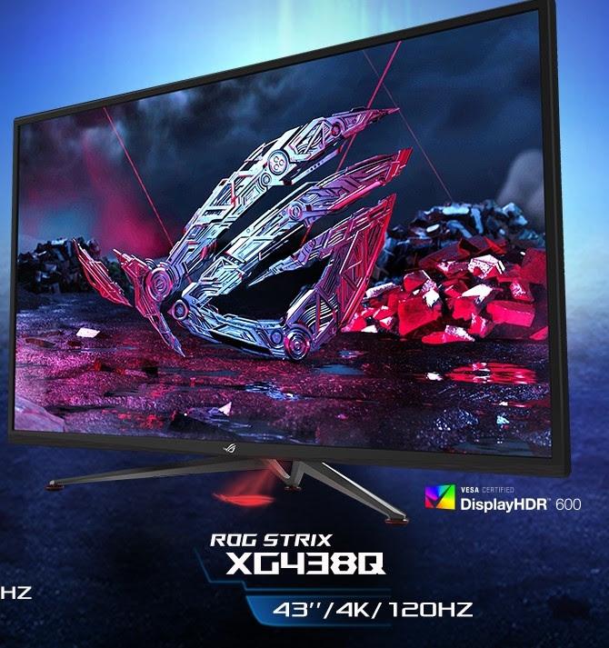 Productos ASUS y ASUS ROG galardonados con premios a la innovación CES 2019 - monitor-gamer-rog-strix-xg438q