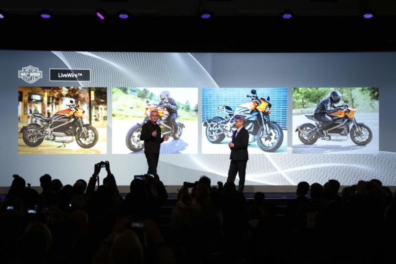 CES 2019: Panasonic presenta los hogares, automóviles y ciudades inteligentes del mañana - primera-motocicleta-electrica-de-harley-davidson-1-800x534