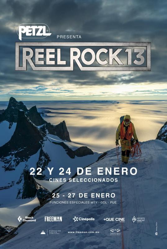 Reel Rock 13, el máximo tour de cine de escalada y aventura del mundo llega a Cinepolis - reel-rock-13