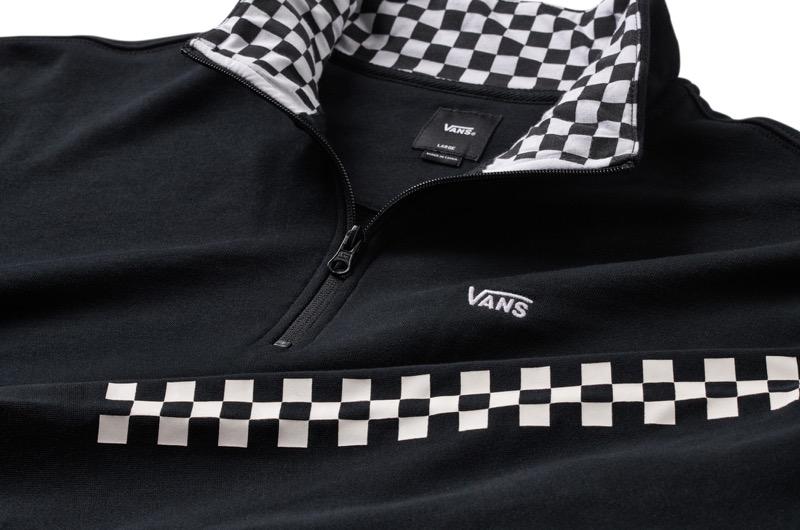 Vans Versa presenta colección con el icónico checkerboard en su diseño - sp19_vn0a3w3d95y_versaqzp_black-checkerboard_macro-800x530
