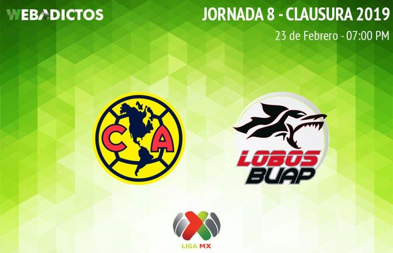 América vs Lobos BUAP, C2019: Horario y cómo verlo en vivo - america-vs-lobos-buap-clausura-2019