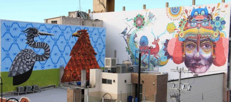 Arte y tecnología se unirán para crear el mural urbano más grande del mundo en la CDMX - arte-tecnologia-800x353