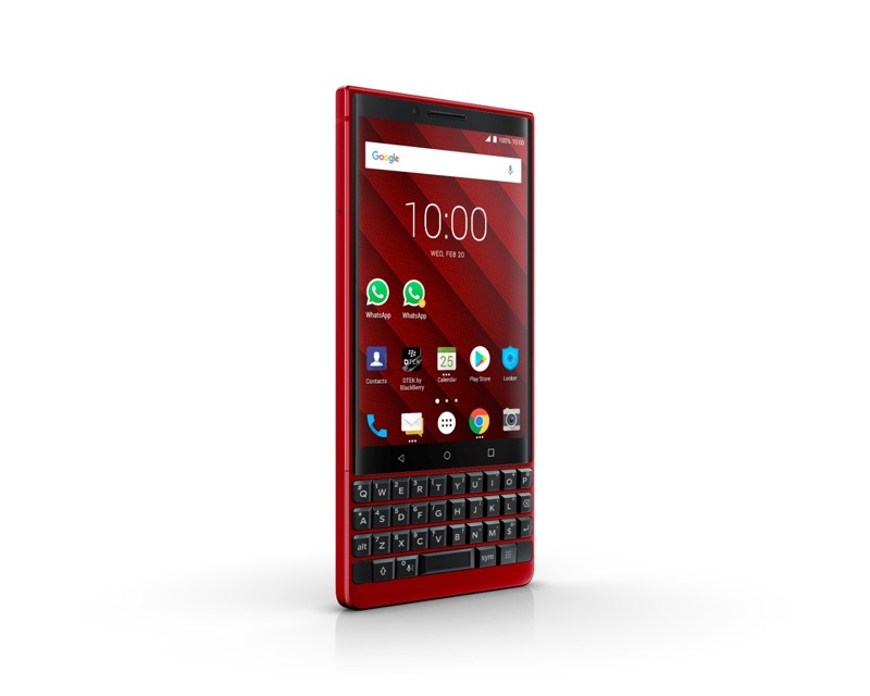 BlackBerry KEY2 Red Edition es presentado en el MWC19 - bb-key2-red-2019_2-800x640