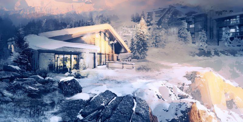 5 escenarios de los videojuegos de Ubisoft, donde podrías disfrutar de una inolvidable velada romántica - chalet-de-tom-clancys-rainbow-six-siege-siege