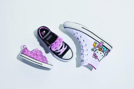 Converse presenta la colección: Converse X Hello Kitty