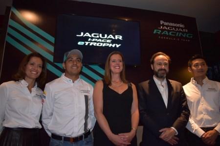 La Residencia Británica en México, recibe al equipo Panasonic Jaguar Racing