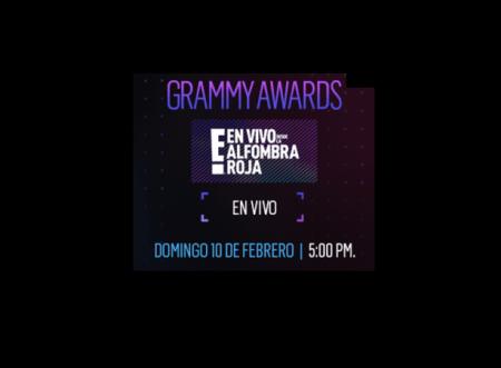 En Vivo desde la Alfombra Roja E! de los Premios Grammy 2019