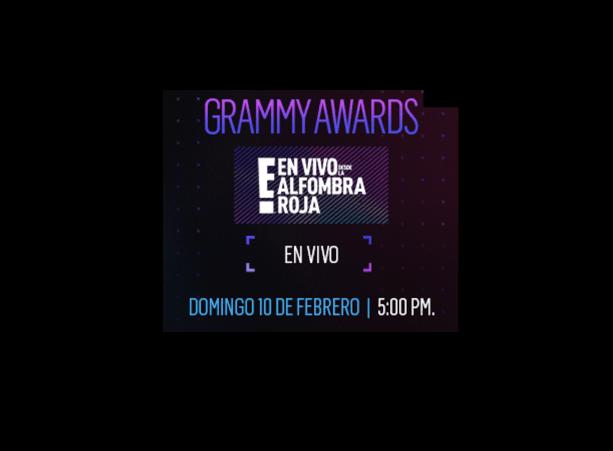 En Vivo desde la Alfombra Roja E! de los Premios Grammy 2019 - grammy