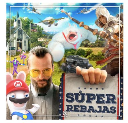 Los juegos de Ubisoft que estarán disponibles a precios increíbles