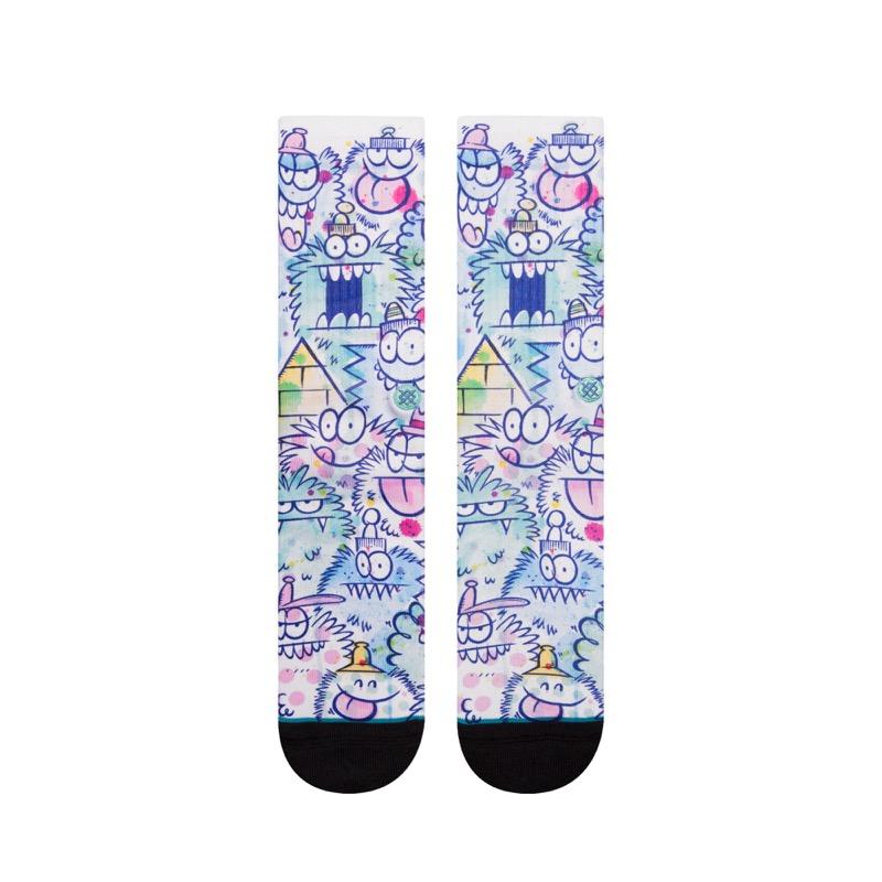 Kevin Lyons y Stance lanzan colección de calcetas de sus emblemáticos personajes MONSTER - kevin-lyons-y-stance_3