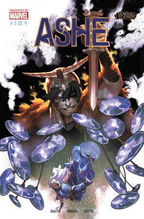 Marvel y Riot Games lanzan la tercera entrega de ASHE: Matriarca