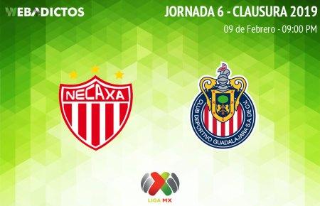 Necaxa vs Chivas, J6 del Clausura 2019 ¡En vivo por internet!