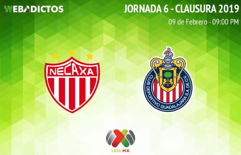 Necaxa vs Chivas, J6 del Clausura 2019 ¡En vivo por internet! - necaxa-vs-chivas-clausura-2019