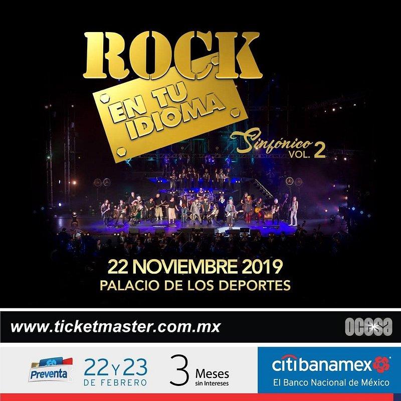 Concierto Rock en tu Idioma Sinfónico Vol. 2 en noviembre - rock-en-tu-idioma-sinfonico-vol-2