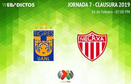 Tigres vs Necaxa, J7 del Clausura 2019 ¡En vivo por internet!