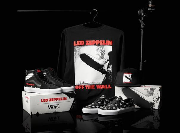 Vans y Led Zeppelin lanzan colección de calzado y apparel de edición limitada - vans-led-zeppelin
