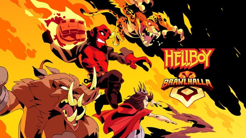 Hellboy, Nimue, Gruagach y Ben Daimio se unan al elenco de Brawlhalla - hellboy_-brawlhalla-800x450