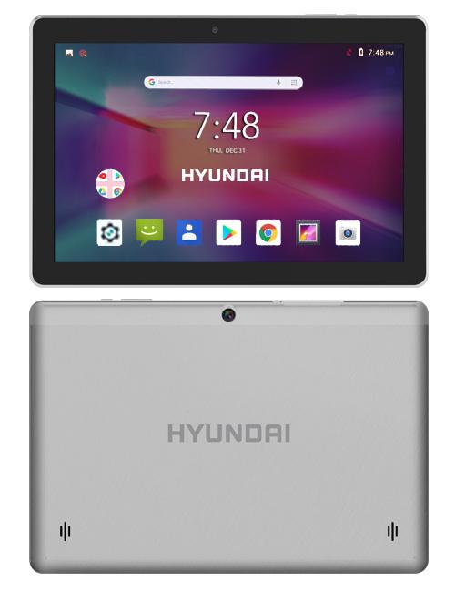 Hyundai Technology lanza su segunda generación de Tablets - hyundai-koral-10x2-silver-webadictos