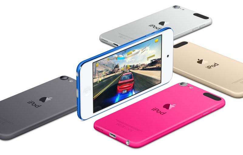 Un nuevo iPod Touch se presentaría mañana - ipod-touch-colors
