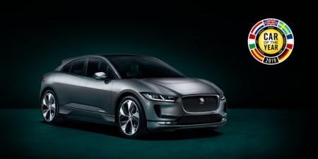 Jaguar I-PACE gana el premio de Auto Europeo del Año 2019