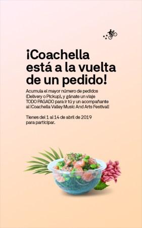 Postmates México te lleva al festival de Coachella