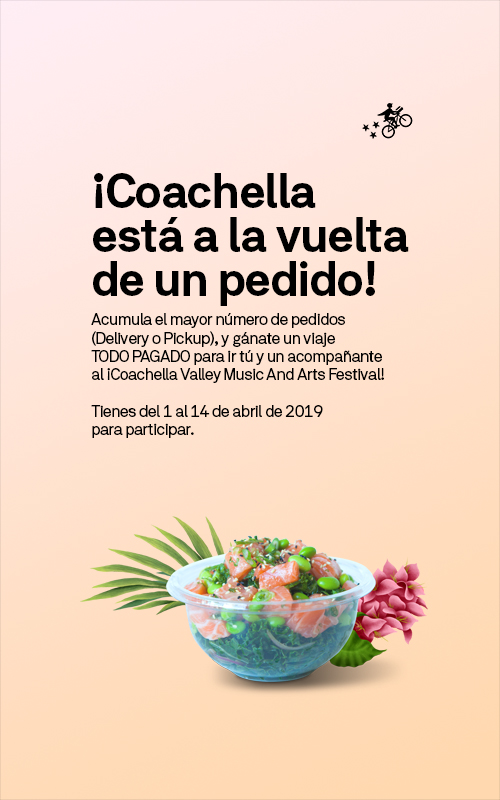 Postmates México te lleva al festival de Coachella - postmates-mexico-coachella-webadictos