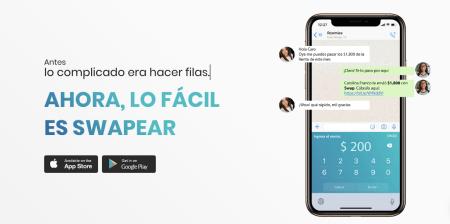 Con Swap, los mexicanos transfieren $50 millones de pesos al día por WhatsApp