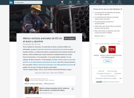 """LinkedIn lanza nueva herramienta sobre los """"Temas más comentados"""" en la plataforma"""