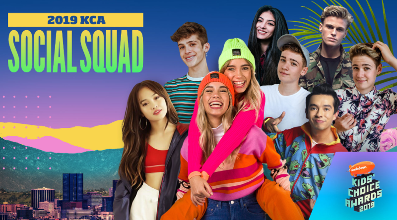 Nickelodeon International anuncia al Social Squad global de los Kids' Choice Awards 2019 - unnamed-800x444