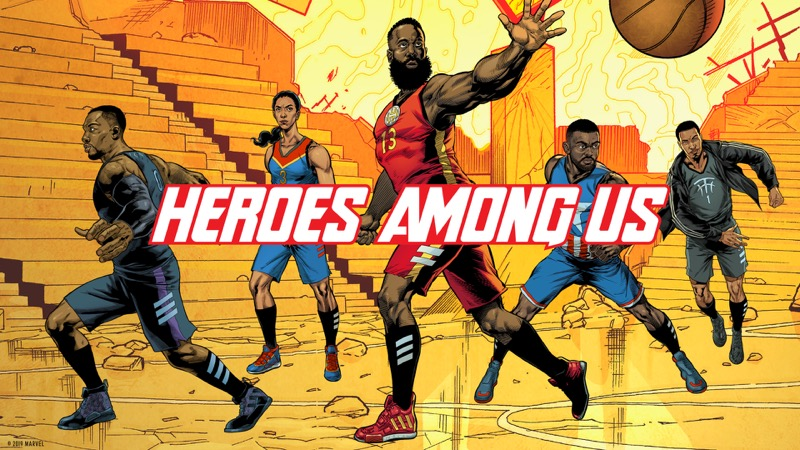 adidas y Marvel celebran a los héroes más poderosos del baloncesto - adidas_marvel_avengers_group_twitter_01-tagline-1