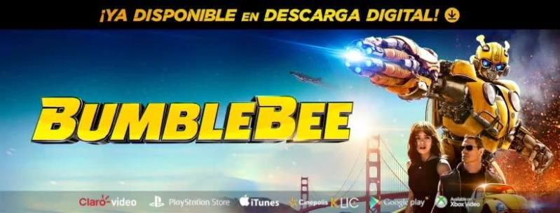 BumbleBee ¡ya disponible en digital! - bumblebee