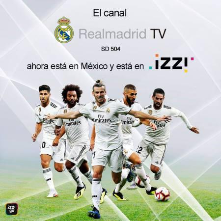 Canal del Real Madrid en exclusiva por izzi