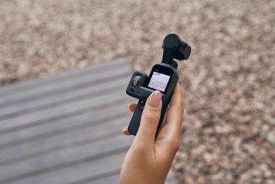 Conoce cómo utilizar al máximo todas las funcionalidades de Osmo Pocket - control-de-camara-osmo-pocket