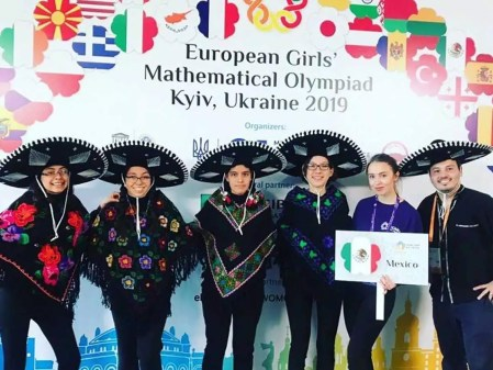 Brillan mexicanas en Olimpiada Europea Femenil de Matemáticas 2019