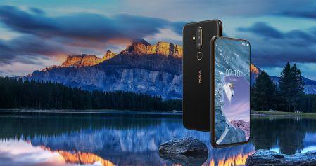 Con el Nokia X71, la firma finlandesa se une la tendencia de orificios en pantalla y cámara de 48 megapíxeles.