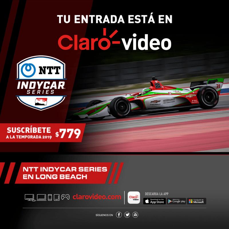 NTT Indy Car Series llega a Claro video - ntt-indy-car-series