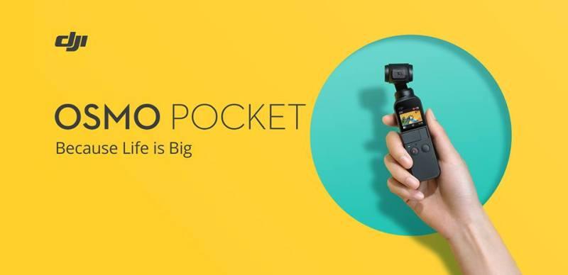 Conoce cómo utilizar al máximo todas las funcionalidades de Osmo Pocket - osmo-pocket-800x388
