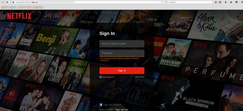 ¡Cuidado! nuevo phishing de Netflix busca robar credenciales de usuarios - phishing-de-netflix-800x367