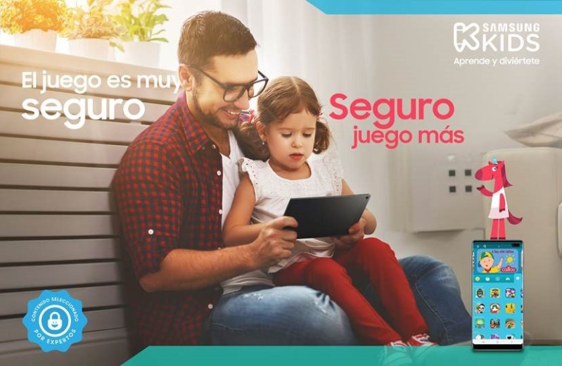 Samsung Kids ya disponible en México - seguridad-kids