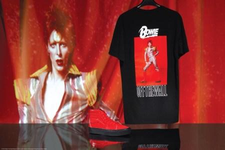 Vans rinde homenaje a DAVID BOWIE con colección de edición limitada