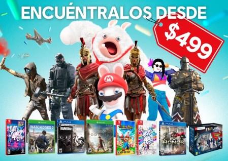 Este Día del Niño celebra con las recomendaciones de Ubisoft ¡a precios increíbles!