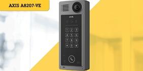 Soluciones de Axis más recientes en audio, video y control de acceso en Expo Seguridad 2019 - a8207-ve-network-video-door-station