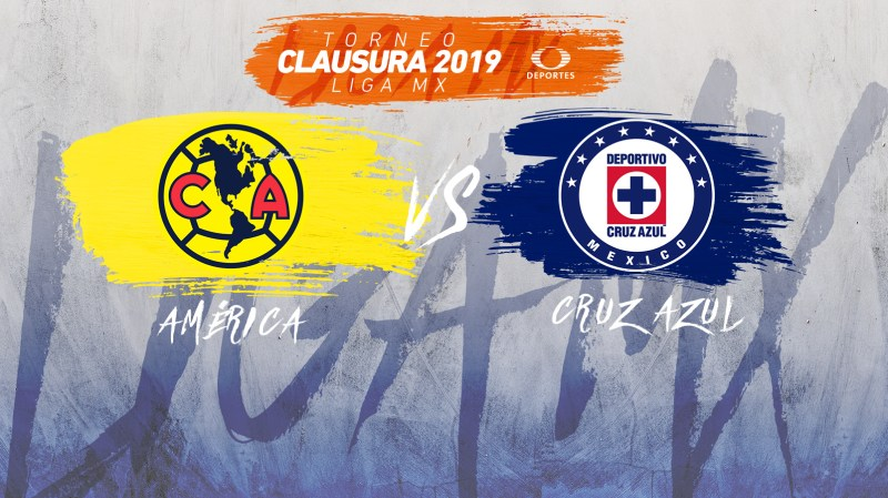 América vs Cruz Azul, Liguilla del Clausura 2019 ¡En vivo por internet! - america-vs-cruz-azul-televisa-deportes-liguilla-c2019