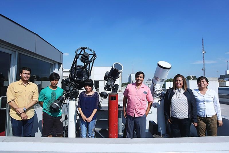 Diseñan y construyen primer telescopio 100% mexicano - astronomos-de-la-universidad-autonoma-de-nuevo-leon