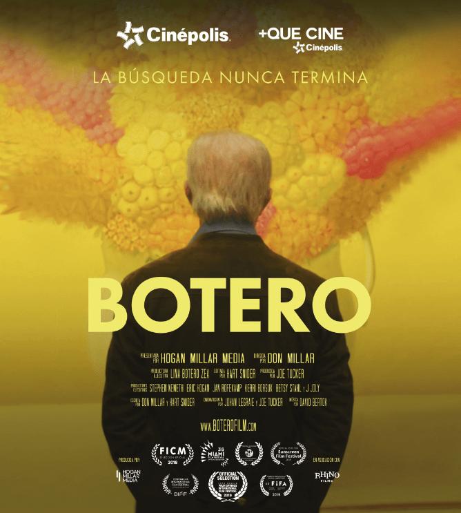 """Cinépolis exhibirá en exclusiva el documental """"Botero"""" - botero-cinepolis-webadictos"""