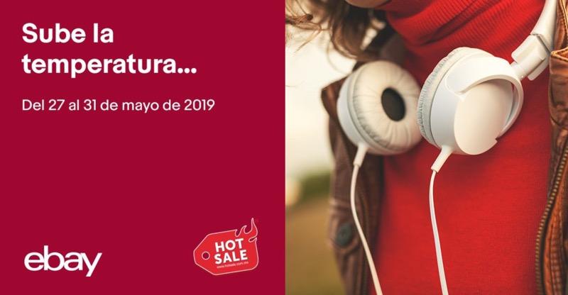 Las ofertas y cupones de eBay para el Hot Sale 2019 - ebay-hot-sale-800x416