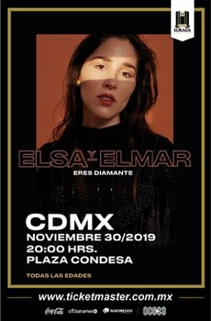 Elsa y Elmar se presentará con nuevo disco en El Plaza Condesa