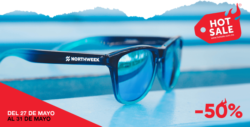 Hawkers y sus marcas Northweek y Bratleboro con descuentos en el Hot Sale - hotsale-2019_mx_