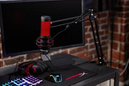HyperX anuncia el micrófono HyperX QuadCast para streamers y casters