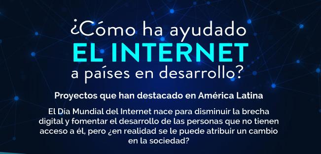 Día Mundial del Internet:¿Cómo ha ayudado el internet a países en desarrollo? - internet